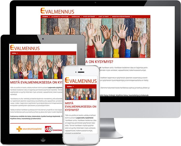 Valtakunnallinen Laajennettu työyhteisö evalmennus