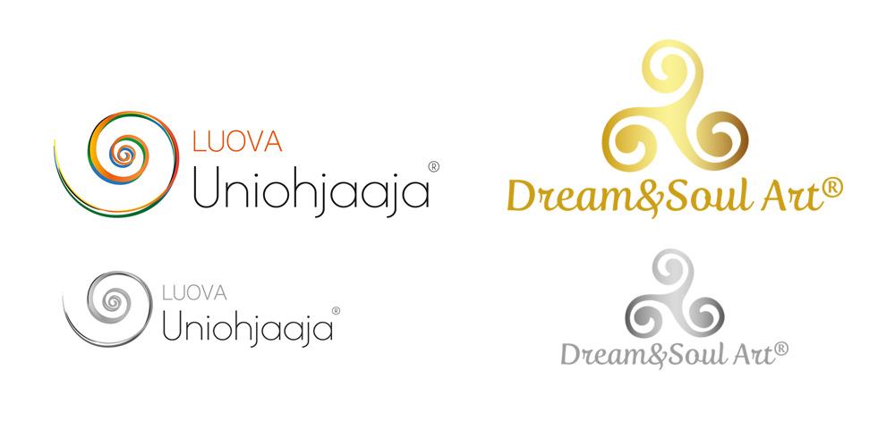 Logojen suunnittelua